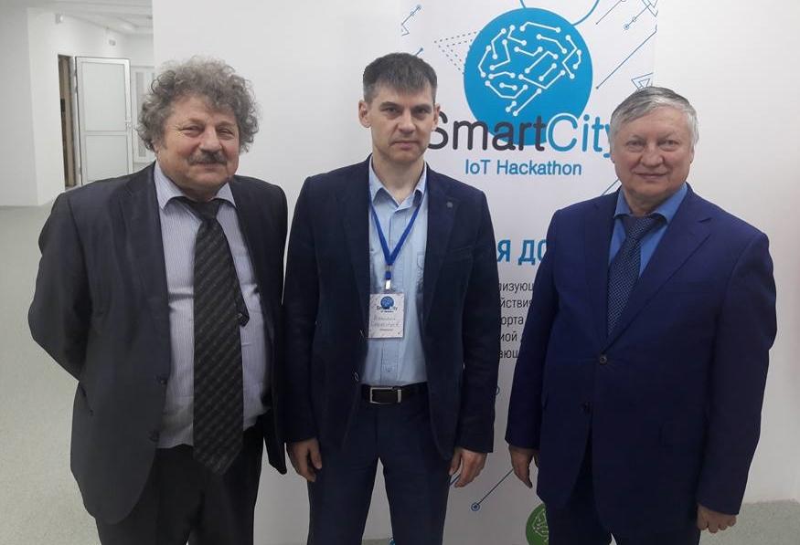 Анатолий Карпов в Тюмени